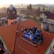 Denis Avdić Show v živo s strehe PGD Prevoje