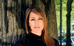 Eva Hren manevrira med kariero in materinstvom