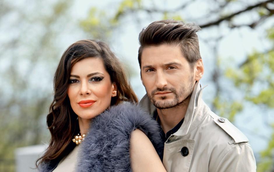 Iris in Danijel (foto: Helena Kermelj)