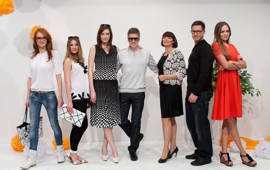 Po modni brvi so se sprehodili znani slovenski obrazi.  (foto: Ana Kovač za Rašico)