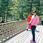 Central Park New York. Nedeljsko popoldansko lenarjenje v najlepšem parku na svetu.  (foto: osebni arhiv Polona Požgan)