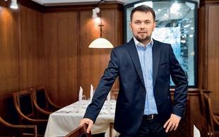 Marko Pavčnik je predelal gostilno