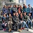 Oriana Girotto med italijanskimi turisti