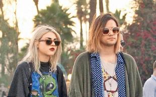 Hči Kurta Cobaina ujeta z zaročencem