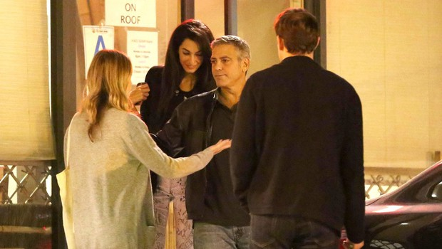 George in Amal (foto: Profimedia)