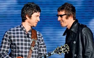 Liam in Noel Gallagher sta se pobotala