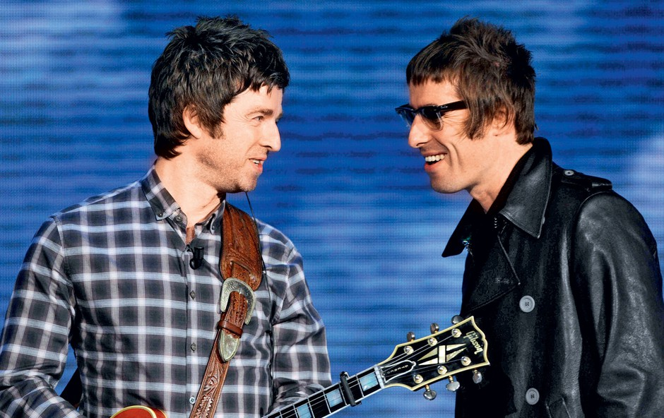 Liam in Noel Gallagher (foto: Profimedia)