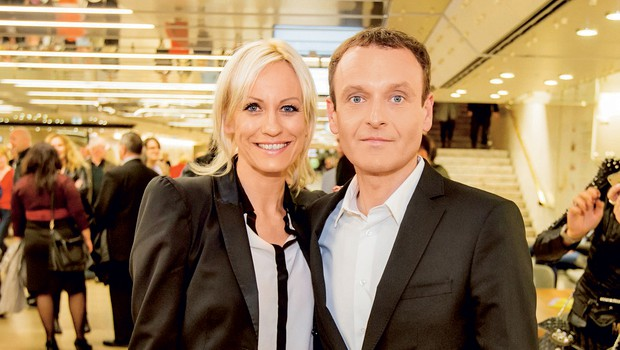 Petra Kerčmar in Uroš Slak (foto: revija Lea)