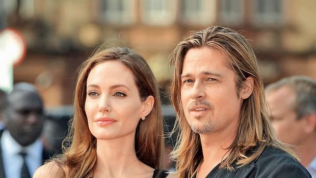 Brad Pitt in Angelina Jolie (foto: Profimedia)