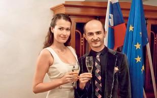 Miki Bubulj med prvomajskimi užival s svojo Yulio