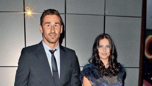 Marko Jarić in Adriana Lima (foto: Profimedia)