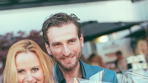 Alja Novak Viryent s šopkom pokovke Joe & Seph's (foto: Marko Delbello Ocepek)