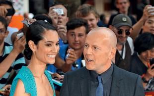 Bruce Willis je že petič postal očka