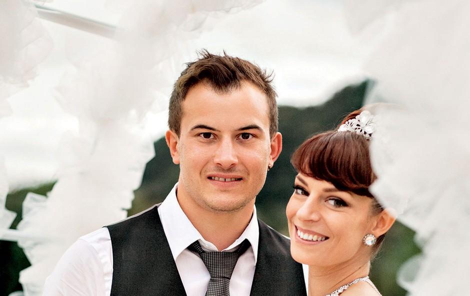 Tina Vunjak in Anže Zavrl (foto: Anže Godec)