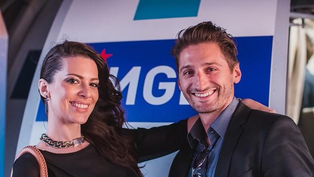 Iris Mulej in Danijel Utješanović (foto: Marko Delbello Ocepek)