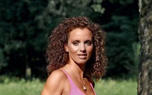 Metka Albreht: Vesela in aktivna nosečnica