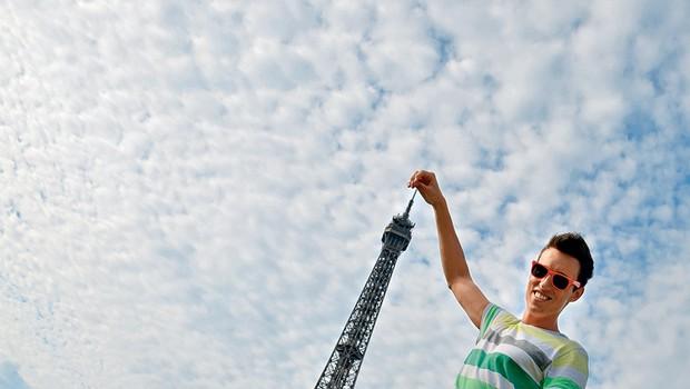 Nino: V Parizu so ga skoraj oropali (foto: revija Lea)