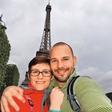 Štefko Bratkovič za obletnico poroke v Pariz