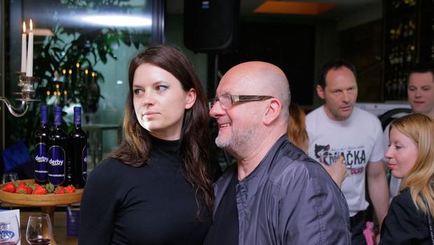 Zmago in Monika Jelinčič (foto: Aleš Pavletič)