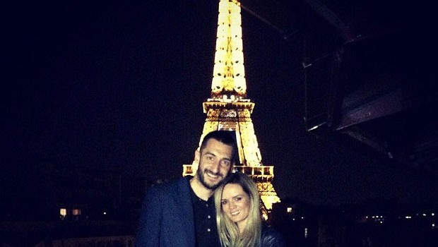 Aida Smajić in Dragan Gajić (foto: facebook.com/aidasmajic8)