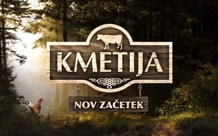 V tretji sezoni šova Kmetija: Nov začetek bo šlo za preživetje!