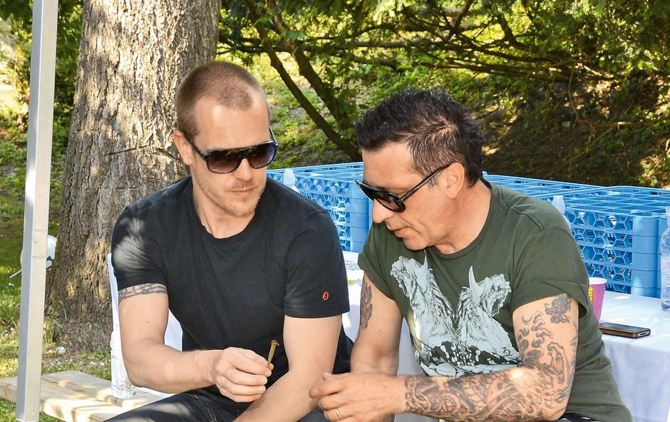 Aleš Uranjek in Mate Brodar (foto: revija Nova)