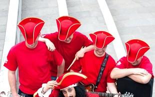 Prisluhnite novi slovenski skupini Captain's Gang