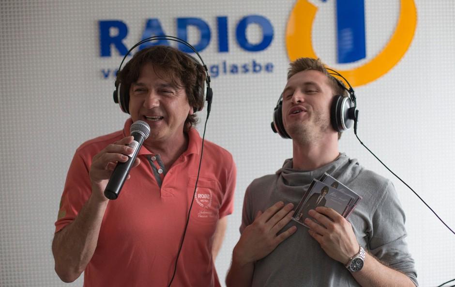 Zdravko Čolić in Denis Avdić (foto: Radio 1)