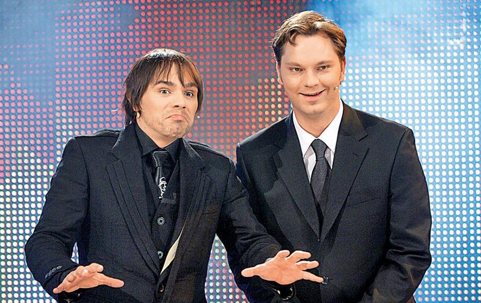 Jurij Zrnec in Lado Bizovičar (foto: revija Lea)