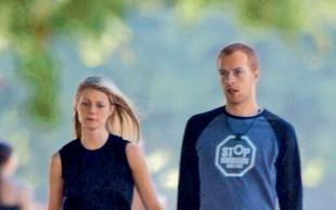 Chris Martin se je vrnil k družini