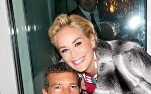 Antonio Banderas zapeljuje Sharon Stone