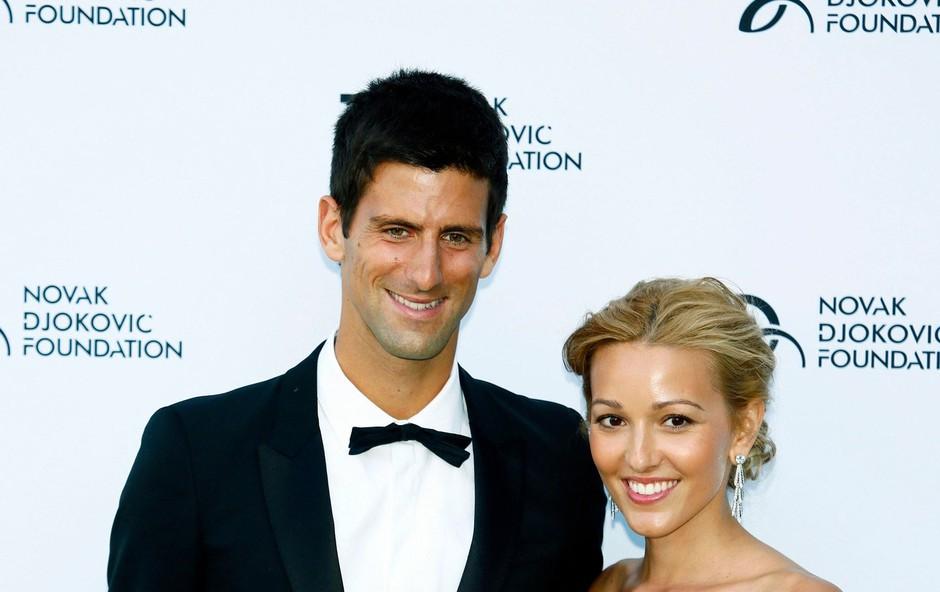 Novak Đoković in Jelena Ristić (foto: Profimedia)