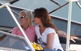Martina Navratilova s svojo Yulio uživa v St.Tropezu