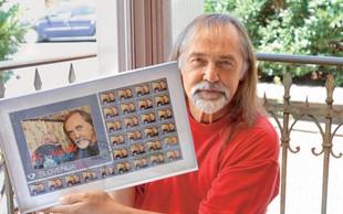 Dragan Bulič je dobil svojo poštno znamko