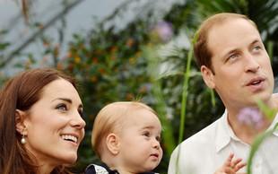 """Princ William: """"George postane nemogoč, ko ga pripravljamo na kopanje"""""""