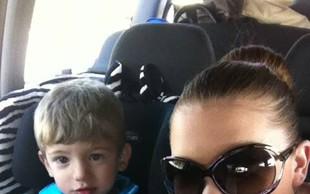 Dašin Kris lep kot mamica