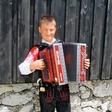 Na Veliki planini slavil 13-letni Anže Krevh