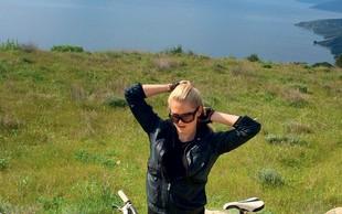 Maša Merc prisega na kolo