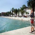 Navdušila je v oblačilih znamke Dolce & Gabbana. (foto: Sonja Dvornik)