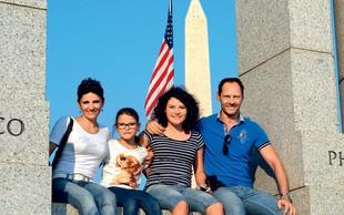 Jože Potrebuješ z družino odkrival Ameriko