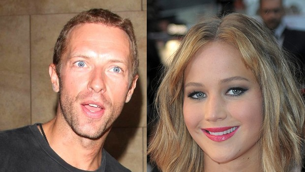 Chris Martin in Jennifer Lawrence (foto: Profimedia)
