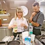 Chef je budno nadzoroval tehniko Polone Zoje Jambrek. (foto: Goran Antley)