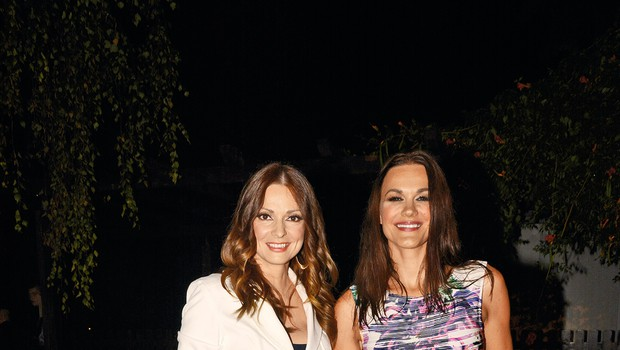 Spet skupaj –  Natalija  in Rebeka.   (foto: Sašo Radej)