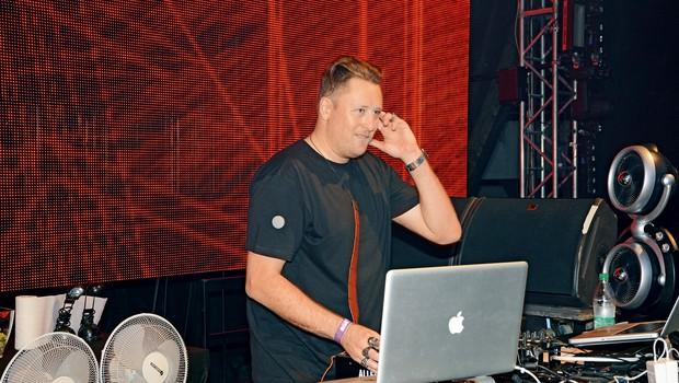 Za glasbo je  tradicionalno skrbel DJ Umek. (foto: Sašo Radej)