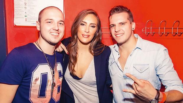 V VIP-prostoru smo ujeliKorija in Tonijav družbi Senidah. (foto: Marko Dolbelo - Ocepek)