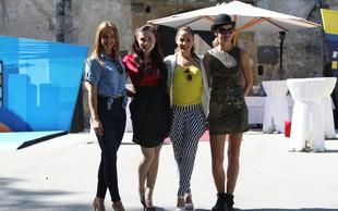 Nina, Maja, Ana in Tina vabijo na Twingo izziv