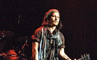 Johnny Depp doživel vrhunec glasbene kariere