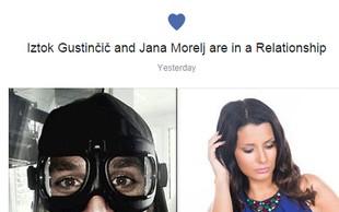 Iztok Gustinčič in Jana Morelj v razmerju?