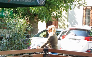 Anika Horvat ujeta v centru Kopra!