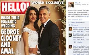 George in Amal: Tako jima je uspelo skriti uradne poročne fotografije